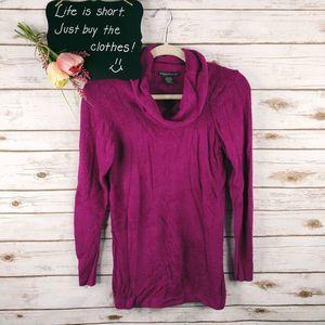 Exofficio Sweater Size S Turtleneck